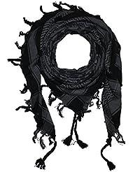 Superfreak® Palituch mit Totenkopf-Muster 1°PLO Schal°100x100 cm°Pali Palästinenser Arafat Tuch°100% Baumwolle – alle Farben!!!