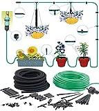 Royal Gardineer Mini Bewässerungssystem: Pflanzen-Bewässerungs-System für Balkon & Terrasse, bis zu 15 Pflanzen (Bewässerungssystem Gewächshaus)