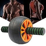 kati-way Roue Abdominale Nouveau Roulette Abdo AB Wheel Roller avec Poignée Antidérapante pour Sport Fitness Musculation Femme Homme, Roue a Abdos Efficace pour Exercice d'entraînement Gym