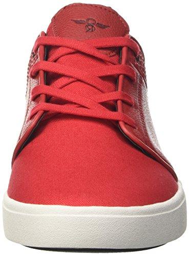 Creative Recreation Santos, Sneaker a Collo Basso Uomo Rosso