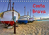 Costa Brava (Tischkalender 2019 DIN A5 quer): Wunderbare Landschaften und romantische Staedte am Mittelmeer (Monatskalender, 14 Seiten ) (CALVENDO Orte)