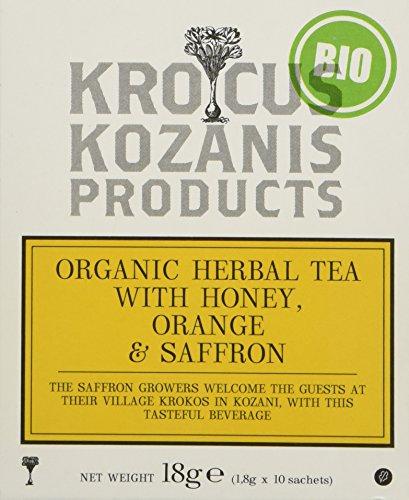 BIO Traditioneller Kräutertee mit Safran und Honig, 10er Pack (10 x 1,8 g)