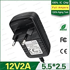 t CAMCALL 12V 2A DC Power Adapter