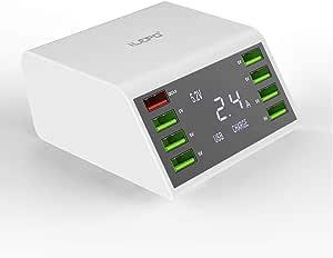 Ilepo 60w Usb Ladegerät Mit Qc 3 0 Schnellladegerät Für Elektronik