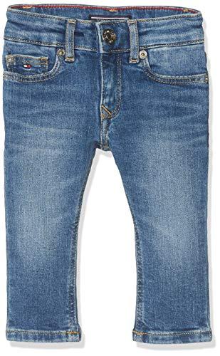 TOMMY HILFIGER Mädchen Girls Nora Skinny Nyms Jeans, Blau (New York Mid Stretch 911), One Size (Herstellergröße: 86) -