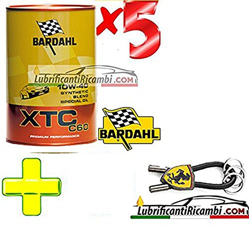 Bardahl - Olio Motore Auto Sintetico XTC C 60 10W40 - Offerta 5 lit
