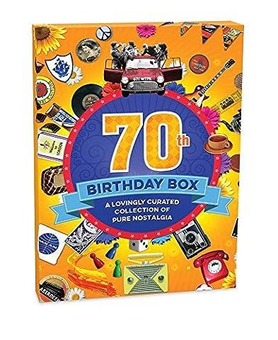 RetroCo 70th Birthday Retro Memorabilia Collection Gift Box - Collage