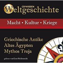 CD WISSEN - Weltgeschichte - Griechische Antike, Altes Ägypten, Mythos Troja, 1 CD