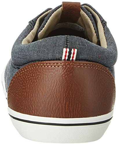 Jack & Jones Jfwvision Chambray Mix Anthracite, Sneakers Basses Homme Gris (Anthracite)