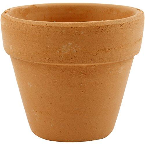Vaso per fiori piccolo, diametro 7 cm, 24 pezzi