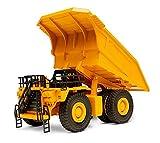 Top Race Calidad Modelos de fundición a presión Vehículos de juguete de construcción de metales pesados, escala 1: 40, Camión volquete, TR-212D