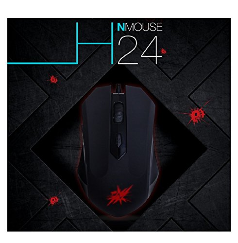 nmouse H24 Gaming Gaming Maus (Hp 2000-computer-bildschirm)