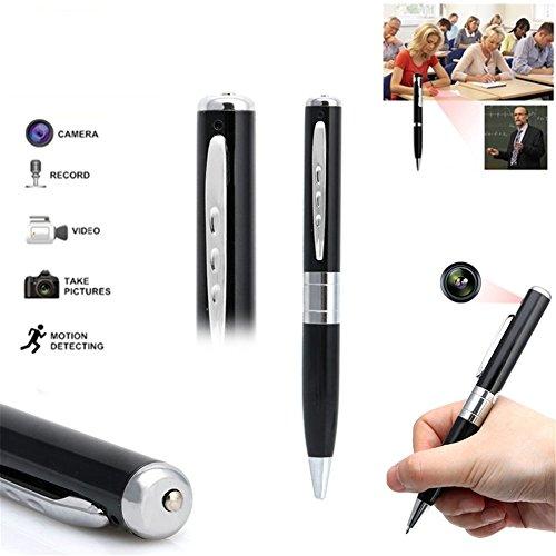 Preisvergleich Produktbild Shootingstar Spy Pen Camera 1080p,  Full HD Spy Camera Monitor Mini DV Camera Portable Pen Recording Video