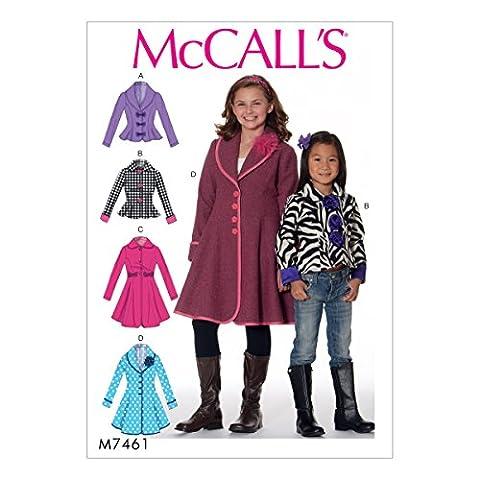 Veste Studio - McCall's Patterns pour enfants/filles vestes et manteaux,