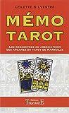 Mémo Tarot - Les rencontres ou associations des arcanes du Tarot de Marseille
