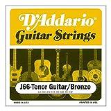 Die besten D'Addario Ukulele Strings - D'Addario J66 Saitensatz für Ukulele, Dulcimer, Tenor Gitarre Bewertungen