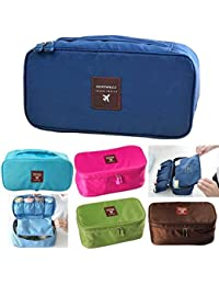 Magnusdeal® Travel Lingerie Pouch, Underwear Pouch Bra Lingerie Bag Multi-Functional Travel Toiletry Organizer...
