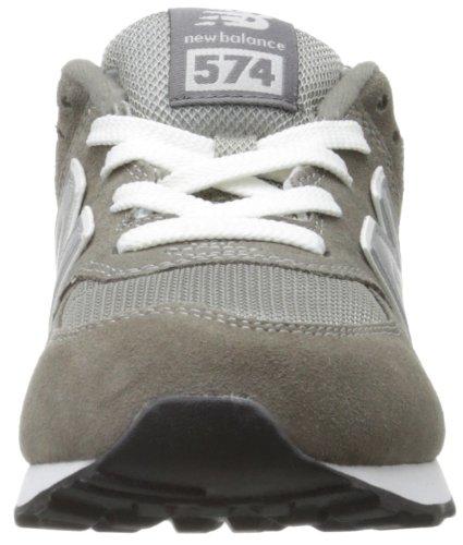 New Balance K_574v1, Scarpe da Ginnastica Unisex – Bambini Grigio (Grey)