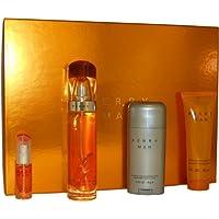 Perry Ellis Man Confezione Regalo 100ml EDT + 78g Deodorante Stick + 90ml Aftershave Gel (7,5 Ml Edt)