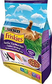 Purina Friskies 12373678 iskies Surfin Favourites Cat Food 7kg(Pack of 1)