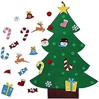 860d745443 Vaxiuja Albero di Natale in Feltro, 3ft Albero di Natale in Feltro Fai da Te