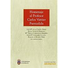 Homenaje al Profesor Carlos Vattier Fuenzalida (Monografía)