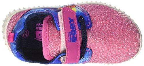 E Walt Girl S17102gaz Baby fuxia Crawlers Rosa Disney Chinelos nxXqXrwf