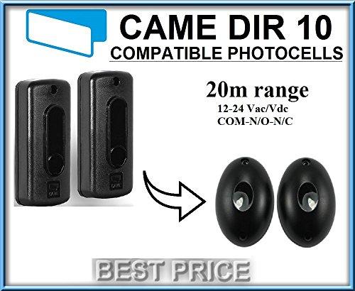 Preisvergleich Produktbild CAME DIR10 / DIR 20 Infrarot Compatibel Lichtschranke