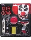 Kit de maquillage Halloween Clown Killer