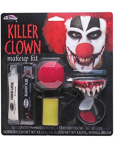 Kostüm Clown Beängstigend (Halloween-Killer)