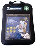 Michelin 92400 Verbandkasten nach DIN 13164:2014, mit 1-Hilfe-Sofortmaßnahmen, Softcase Gehäuse