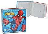 Unbekannt großes Fotoalbum Spiderman incl. Namen - Gebunden - für 200 Bilder 15 cm * 10 cm - Photoalbum Kinderalbum - Spider-Man Amazing Aktion Spinne Superheld für Kinder Jungen