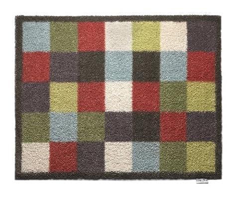 Hug Rug Check 10 design, Highly Absorbent Indoor Barrier Mat, Size 65x85cm