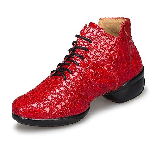Minitoo , Salle de bal femme Red-4cm Heel