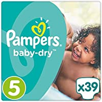 Pampers Baby Dry couches Taille 5Essential Lot 39