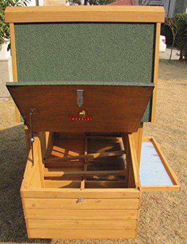 Pets Imperial® - 190cm Poulailler Sandringham - Jusqu'À 4 Poules - Système De Verrouillage Innovant - 5