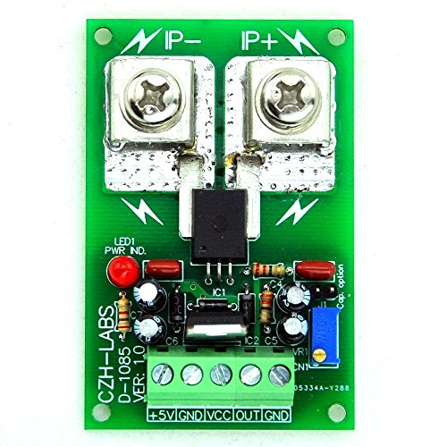 Electronics-Salon Panel Mount +/-150amp AC/DC Current Sensor Module Board, basierend auf acs758