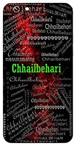 Chhailbehari (Lord Krishna) Name & Sign Printed All over customize & Personalized!! Protective back cover for your Smart Phone : Samsung Galaxy S4mini / i9190