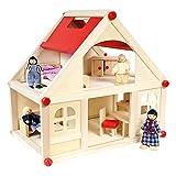 Bino 83552 - Puppenhaus möbliert