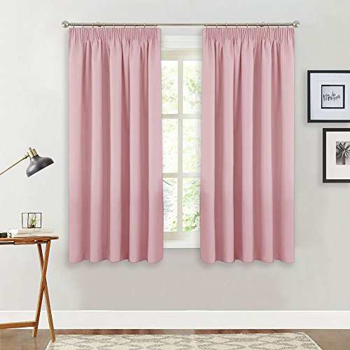 Fabulous Pale Pink Curtains: Amazon.co.uk GS89