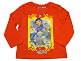 Playmobil Official Boys T-Shirt Long Sleeve 6Years Orange