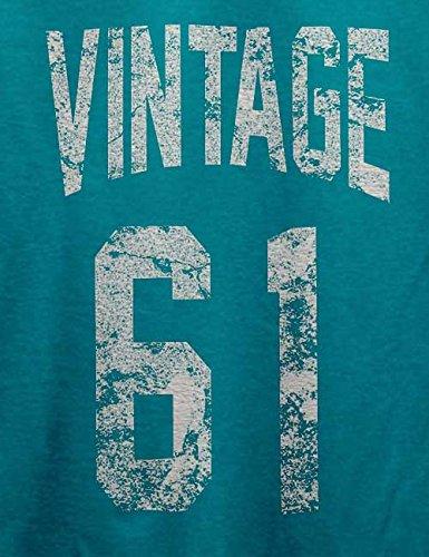 Vintage 1961 T-Shirt Türkis