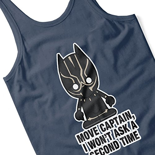 Lil Black Panther Move Captain Women's Vest Navy blue