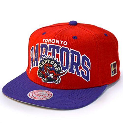 new styles 322b9 9bb09 Mitchell   Ness Toronto Raptors Team Arch Snapback NBA Cap W HWC Patch