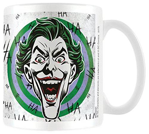 Empire Merchandising 695062 Batman The Dark Knight Joker Face Taza tamaño, diámetro 8,5 Horas 9,5 cm