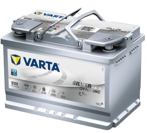 Batterie Varta E39 sil-dyn-agm 12 V 70 Ah 760en Dim : 278 x 175 x 190 B13