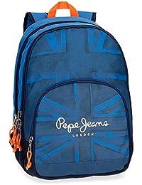 Preisvergleich für Rucksack 2 Fächer Pepe Jeans Fabio Blau