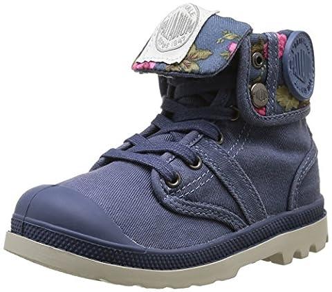 Palladium Baggy Twl K, Sneakers Hautes mixte enfant, Bleu (505 Cosmos/Flower), 28 EU