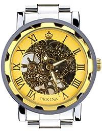 ORKINA KC023-S-Gold/Gold - Reloj para hombres