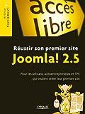 Image de Réussir son premier site Joomla! 2.5: Pour les artisans, autoentrepre